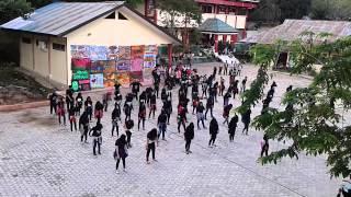 The Zofie SMAN2 Tarakan, Flashmob.