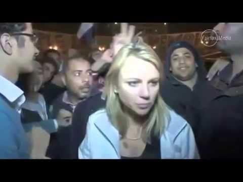 Dutch Journalist Raped In Tahrir Square   Cairo Egypt 2013