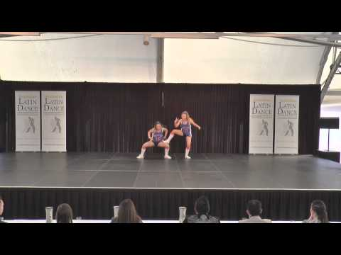 Australian Latin Dance Championships Finals Youth Mixed Latin Duet Georgia Chandler & Tiarna
