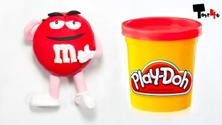 M&M's Play Doh STOP MOTION