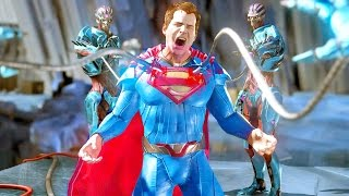 Injustice 2 All Super Moves on Superman (No HUD) 4K UHD 2160p