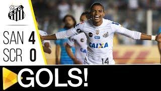 Santos 4 x 0 Sporting Cristal | GOLS | CONMEBOL Libertadores Bridgestone (23/05/17)