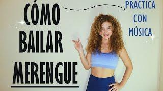 Cómo bailar merengue ,practica con música, ejercita todo los músculos del cuerpo.