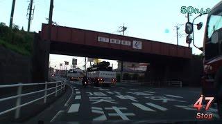 Red Signal 50 Course 7-11~赤信号50回stopでどこまで行けるかやってみよう Part 58