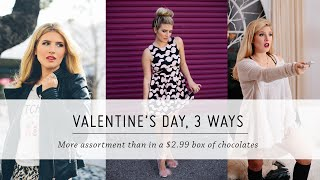 Valentine's Day, 3 Ways | Outfit Tutorial | DIY Style & Beauty | Mr Kate