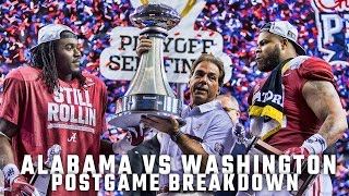 Postgame Report: College Football Playoff Semifinal