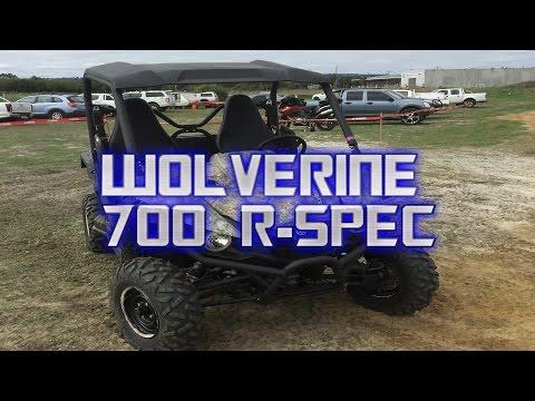 YAMAHA ATV TEST RIDE DAY - PART 2-WOLVERINE 700 R-SPEC