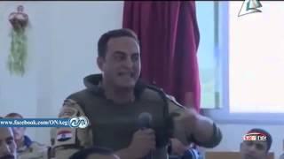 ضابط مصرى ينفعل امام قائد شمال سينا راجل من ظهر راجل  lawyer . litolover