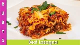 Best Lasagna Pasta Recipe in Urdu Hindi - RKK