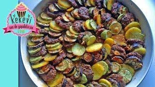 Fırında Sebzeli Dizme Köfte - Ayşenur Altan  Yemek Tarifleri