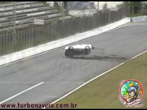 Acidente Gol turbo FLD Everson de Camargo Paranaense de Arrancada