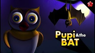 PUPI & BAT♥ Malayalam pre-school learning cartoons for Kids ★Pupy most awarded educational videos