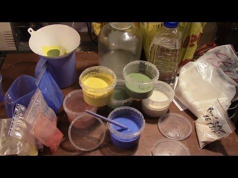 Глазурь для керамики своими руками
