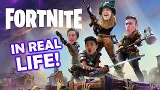 Fortnite In Real Life 1!
