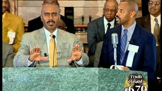 Pastor Gino Jennings Truth of God Broadcast 669-672 Harry Knox Debate Part 1 of 2