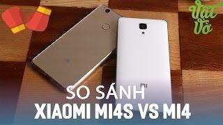 Vật Vờ| So sánh chi tiết Xiaomi Mi 4s và Xiaomi Mi4: có nên nâng cấp?