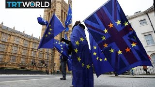 London Mayor Sadiq Khan calls for a second Brexit referendum
