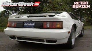 1989 Lotus Esprit Turbo SE | Retro Review