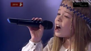 'Hallelujah'(Russian).The Voice Kids Russia 2016.Artem/Julia/Marsel/Xenia.