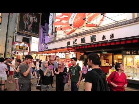 Xxx Mp4 Osaka Walking Tour Of Namba Amp Dotonbori Area 3gp Sex