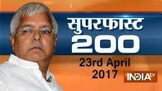 Superfast 200 | 23rd April, 2017, 5:00pm ( Part 2 ) - India TV