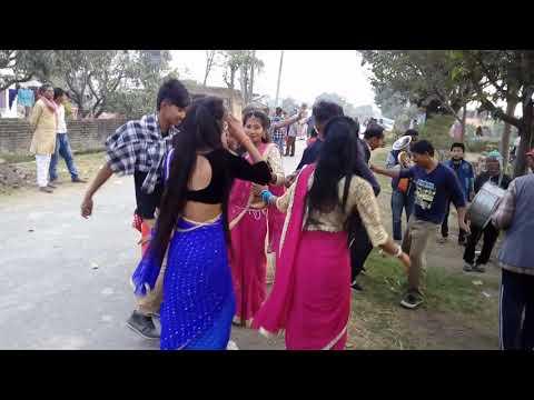bend baaja babbal tharu dance