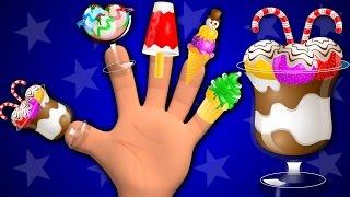 Ice Cream Finger Family | Nursery Rhymes | Kids Songs | Baby Rhymes