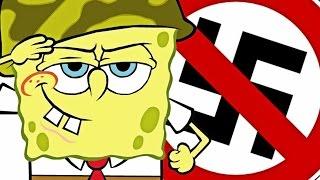 SPONGEBOB CONTRO I NAZISTI -  Gmod Funny Moments ITA