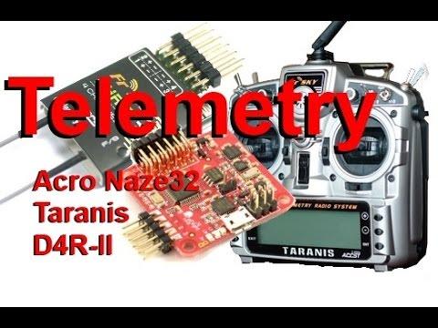 hqdefault acro naze32, taranis, & d4r ii telemetry setup (cppm) playithub