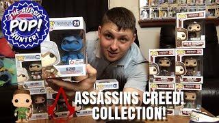 FUNKO POP COLLECTION! - Ubisolf Assassins  Creed - exclusive animus blue Ezio