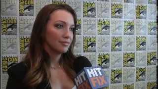 Comic Con 2012 -  Katie Cassidy