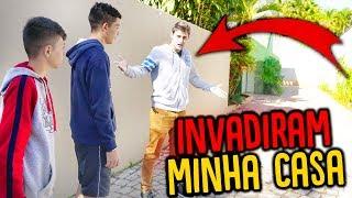 OS INSCRITOS INVADIRAM MINHA CASA !!! [ REZENDE EVIL ]