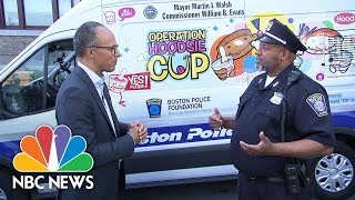 Boston Police Department's Secret Weapon: Ice Cream | NBC News