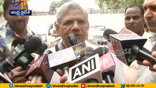 Chandrababu Continues Efforts to Consolidate Opposition, Meets Left's Sitaram Yechuri