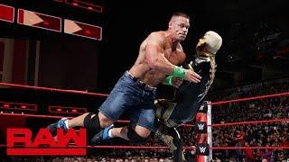 John Cena vs. Goldust: Raw, March 5, 2018