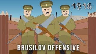 The Brusilov Offensive (1916)