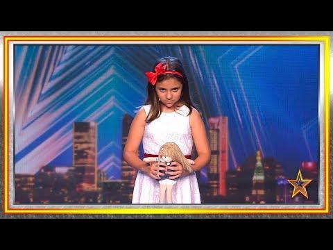 Xxx Mp4 ¿Listo Para Temblar De Miedo Con Esta Niña Y Su Muñeca Audiciones 1 Got Talent España 2019 3gp Sex