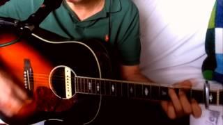 Searching For A Heart ~ Warren Zevon - Don Henley ~ Acoustic Cover w/ Johnson JSD-66