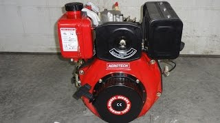 Yanmar L70 6HP Diesel Clone , Unboxing & First Cold Start