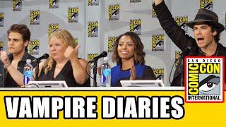 The Vampire Diaries Comic Con 2014 Panel