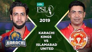 Match 32: Eliminator 1 Full Match Highlights Karachi Kings Vs Islamabad United | HBL PSL 2019