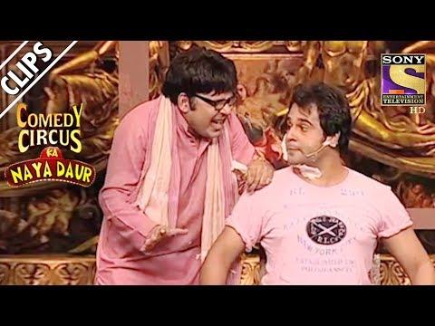 Krushna Mimicks Sohail & Visits Sudesh s Barber Shop Comedy Circus Ka Naya Daur