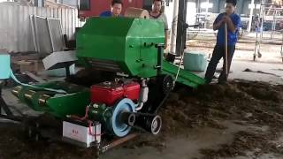 Mini Grass Silage Baler Machine
