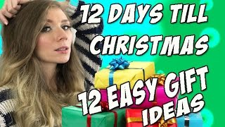 12 Days Until Christmas: 12 Easy Gift Ideas for Girlfriend, Wife, Mom, Friend!