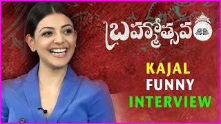 Kajal Agarwal Funny Interview About Brahmotsavam Movie - Maheshbabu , Samantha