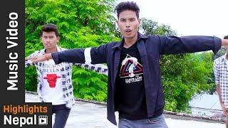Dipen Raja | New Nepali Tharu  Pop Song 2017/2074 |  Sandip-X, Dipen, Arjun, Shyam, Prabin