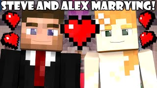 If Steve and Alex were Married - Minecraft