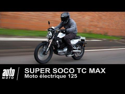 Moto électrique 125 SUPER SOCO TC MAX essai POV exclusif AUTO MOTO.COM
