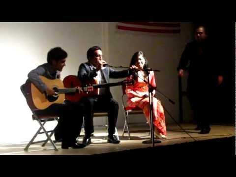 Let me love you (cover) by Prasad V.S, Kamlesh Menon & Sarah Liyana Darwin