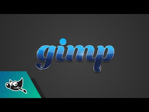 GIMP Tutorial Glossy Text Effect